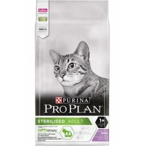 Корм для кошек Pro Plan Sterilised, 10 кг, индейка