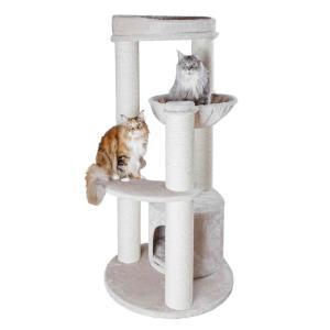 Домик-когтеточка для кошек Trixie Carlos, размер 94x78x159см., серый