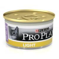 Фотография товара Корм для кошек Pro Plan Light, 85 г, индейка