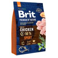 Фотография товара Корм для собак Brit Premium by Nature Sport, 3 кг, курица