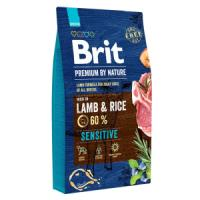 Фотография товара Корм для собак Brit Premium By Nature Sensitive, 8 кг, ягненок