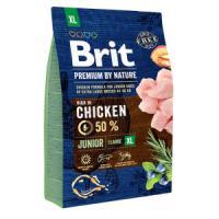 Фотография товара Корм для щенков Brit Premium by Nature Junior XL, 3 кг, курица