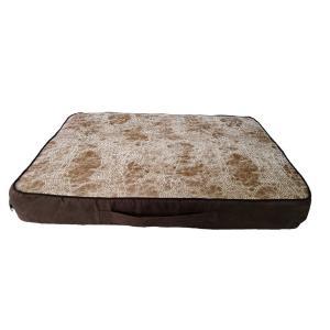 Лежанка для собак и кошек Osso Fashion M, размер 60х50х8см., коричнево-бежевый