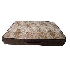 Лежанка для собак Osso Fashion L, размер 100х65х8см., коричнево-бежевый