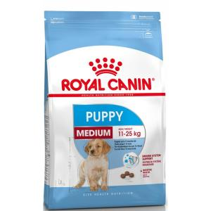 Корм для щенков Royal Canin Puppy Medium, 15 кг, курица