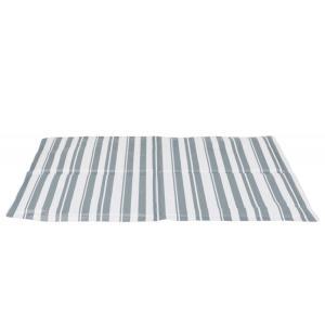 Охлаждающий коврик для собак Trixie Cooling Mat L, размер 65х50см., бело-серый
