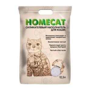 Наполнитель для кошачьего туалета Homecat Стандарт, 5.07 кг, 12.5 л