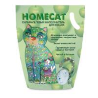Фотография товара Наполнитель для кошачьего туалета Homecat Яблоко, 1.8 кг
