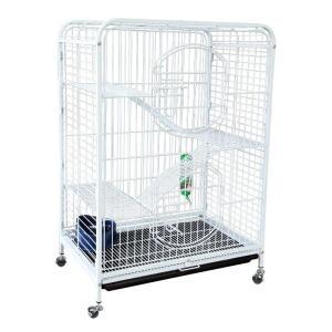 Клетка для грызунов Triol C2-1W, размер 64х43.5х92.5см., белый