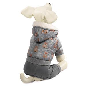 Комбинезон зимний для собак Triol XS, размер 20см.