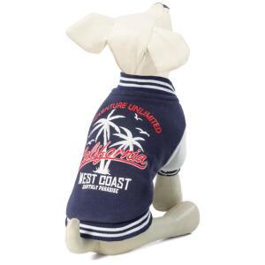 Куртка-бомбер для собак Triol California XXL, размер 45см.