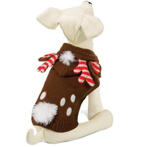 Свитер для собак Triol Рождественский Олень S, размер 25см.