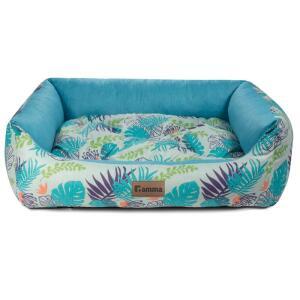 Лежак для собак и кошек Гамма Тропики, размер 52х45х17см.