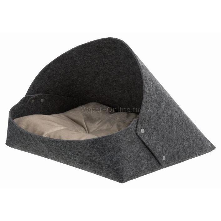 Лежак-пещера для собак и кошек Trixie Arta, размер 55х50х77см. - Интернет зоомагазин MyPet-Online.ru