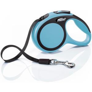 Поводок-рулетка для собак Flexi New Comfort XS, синий