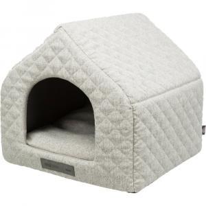 Лежак-пещера для собак и кошек Trixie Noah, размер 40х45х43см., светло серая