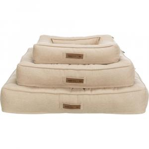 Лежак с бортиком для собак Trixie Lona, размер 60х50см., песочный
