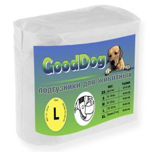 Подгузники для собак GoodDog L