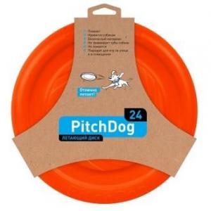 Игрушка для собак PitchDog SPORTBALL, размер 24см., оранжевый