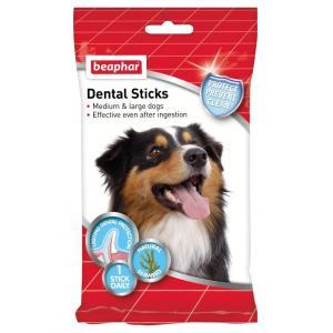 Лакомство для собак Beaphar Dental Sticks, 180 г