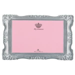 Коврик под миску Trixie My Princess, размер 44×28см., розовый