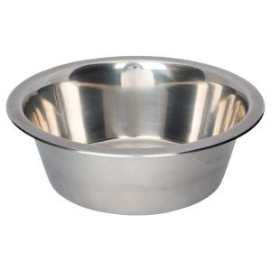 Миска для собак Trixie Stainless Steel Bowl M, размер 15см.