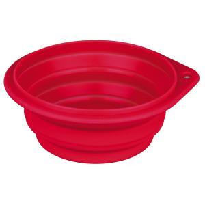 Миска дорожная Trixie Travel Bowl, размер 11см., цвета в ассортименте