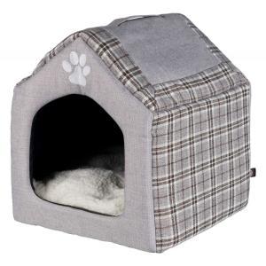 Домик для кошек и собак Trixie Silas, размер 40×45×40см., серый / кремовый