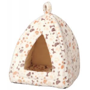 Домик для кошек и собак Trixie Lingo, размер 32x32x42см., белый / бежевый