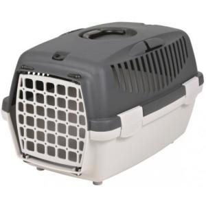 Бокс-переноска для собак и кошек Trixie Capri 1, размер 1, размер 32х31х48см., светло-серый / темно-серый