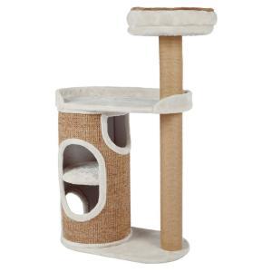Домик-когтеточка для кошек Trixie Falcot, размер 70х38х117см., светло-серый