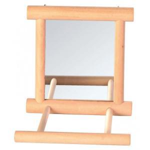 Зеркало для птиц Trixie Mirror, размер 9х9см.