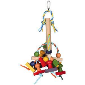 Игрушка для птиц Trixie Wooden Toy, размер 31см.