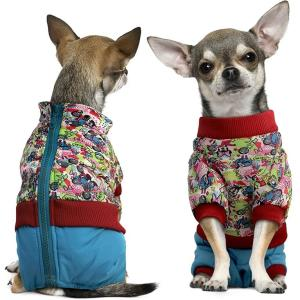 Комбинезон для собак Triol Friends L, размер 35см., голубой