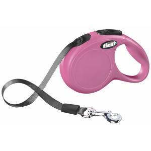 Поводок-рулетка для собак Flexi New Classic XS, розовый