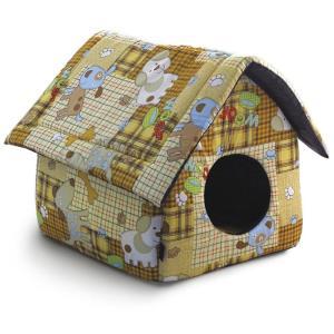 Домик для собак и кошек Гамма Дг-06710, размер 36х36х38см., цвета в ассортименте