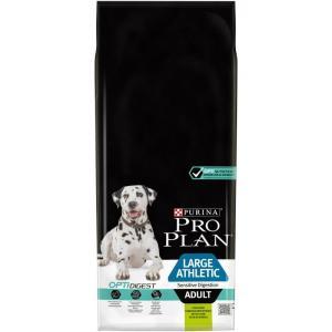 Корм для собак Pro Plan Adult Large Athletic, 14 кг, ягненок с рисом