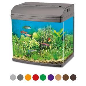 Аквариум для рыб Jebo 338R, 35 л, размер 38х27х46см., черный