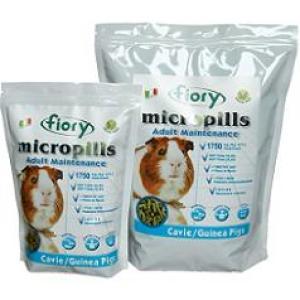Корм для морских свинок Fiory Micropills, 910 г, травы