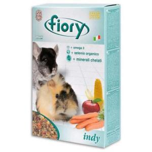 Корм для морских свинок и шиншилл Fiory Indy , 975 г, травы, овощи