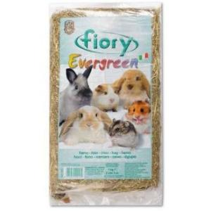Сено для грызунов Fiory Evergreen, 1.017 кг