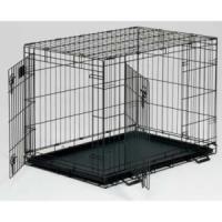 Фотография товара Клетка для животных Midwest Life Stages, 25 кг, размер 122х76х84см., черный