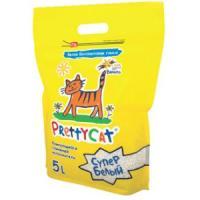Фотография товара Наполнитель для кошачьих туалетов Pretty Cat Супер Белый, 4.2 кг