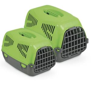Переноска для собак и кошек MPS Sirio Little, размер 50х33.5х31см., зелёный
