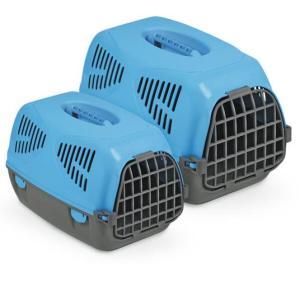 Переноска для собак и кошек MPS Sirio Big, размер 64х39х39см., голубой