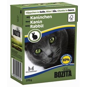 Корм для кошек Bozita Rabbit, 370 г, кролик