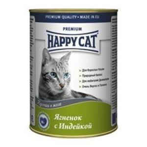 Корм для кошек Happy Cat, 400 г, ягненок с индейкой