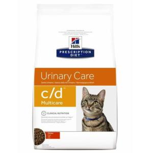 Корм для кошек Hill's Prescription Diet C/D, 5 кг, курица