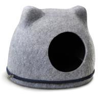 Фотография товара Домик для кошек Triol Кошкин Дом, размер 34х43х34см., серый
