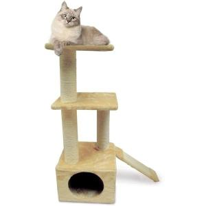 Игровой комплекс для кошек Triol, размер 37х37х98см.